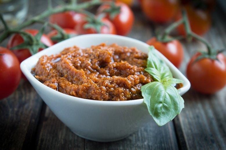 Veganes Pesto Rosso