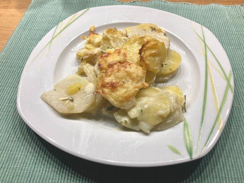 Kartoffel-Auflauf mit Kohlrabi