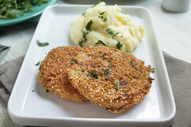 Kohlrabi-Schnitzel