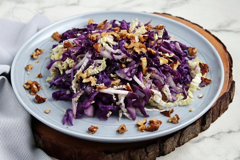 Rotkohl-Salat