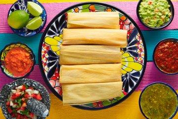 Tamales auf mexikanische Art