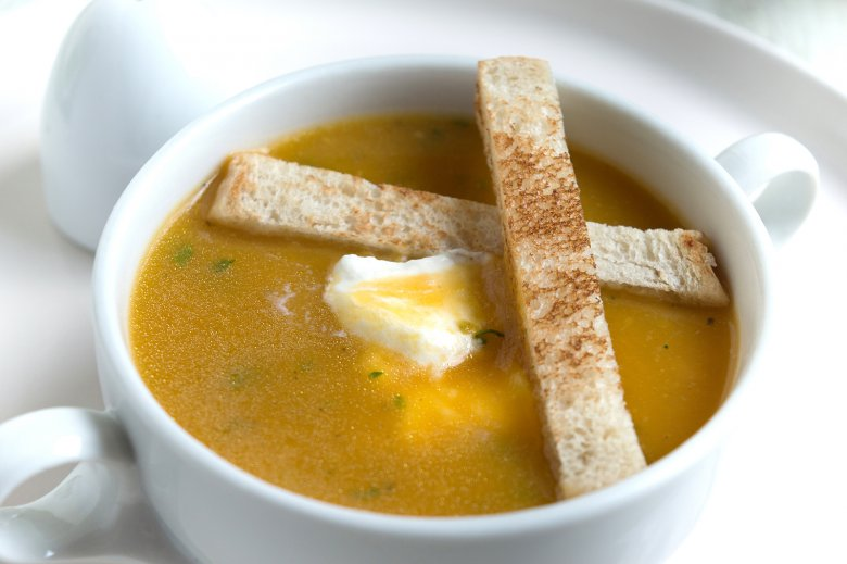 Butternut-Kürbissuppe