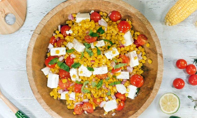 Schneller Maissalat