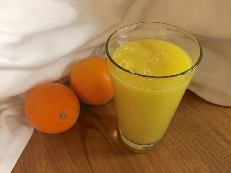 Fruchtiger Smoothie mit Ingwer