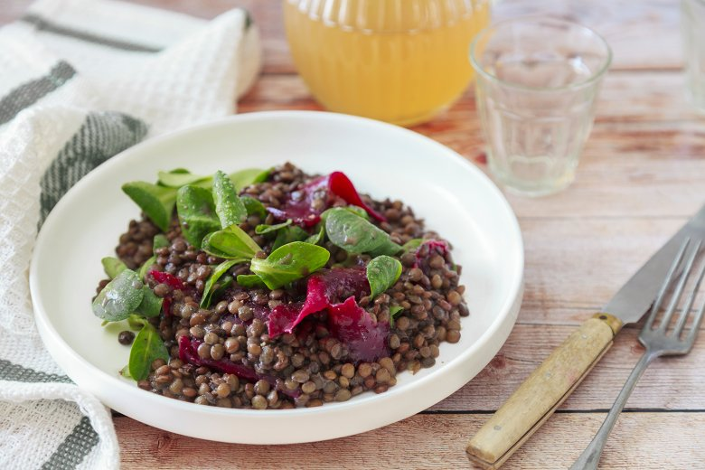 Linsen-Rote Bete-Salat