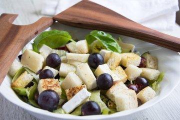 Käse-Trauben-Salat italienische Art