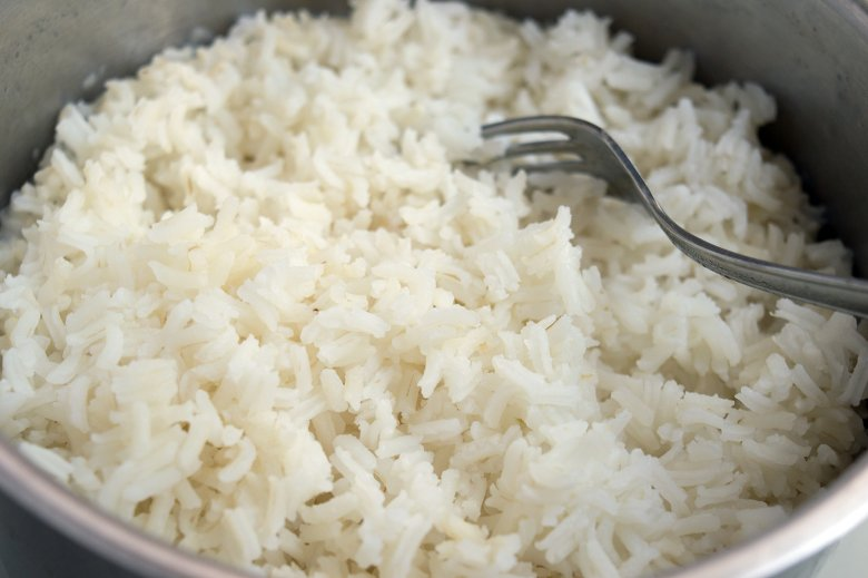 Reis nach Grundrezept