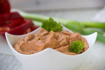 Kräuterquark mit Paprika