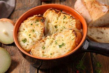 Italienische Zwiebelsuppe