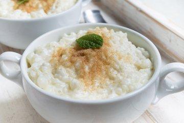 Milchreis mit Reismilch