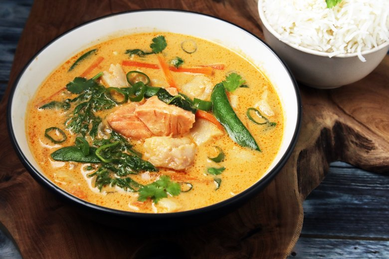 Fisch-Curry nach Thai-Art