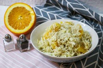 Selleriesalat mit Orangen