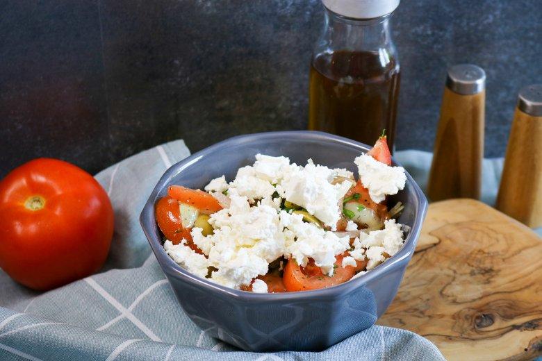 Griechischer Tomaten-Salat