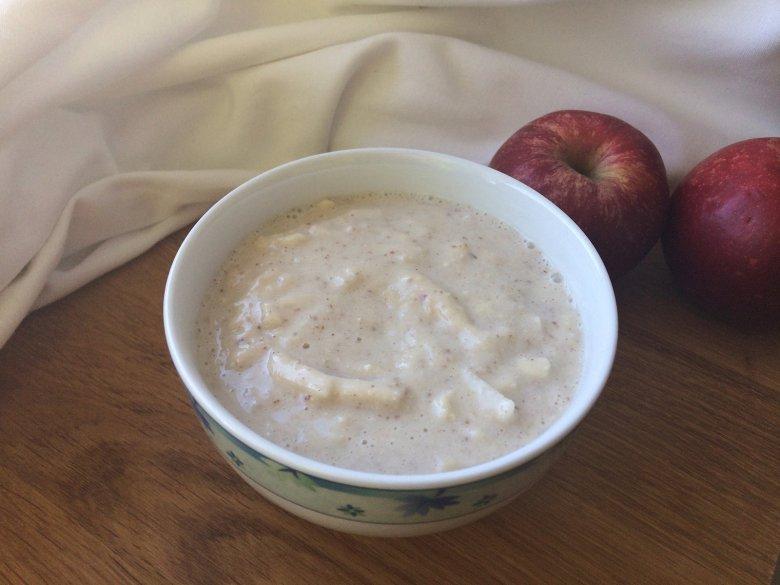 Rohkost Mandel-Apfel-Brei