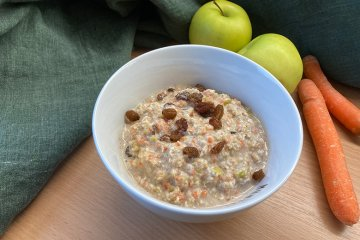 Rohkost Möhren-Apfel-Frühstück