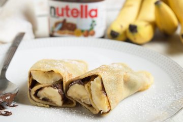 Crêpes mit Nutella
