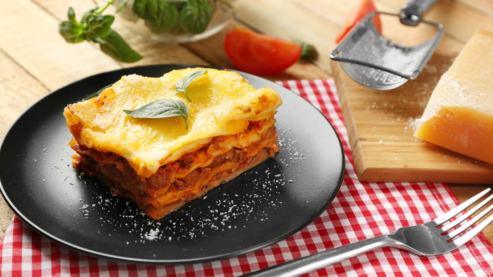 Lasagne Mit Bechamelsauce Rezept Gutekueche De