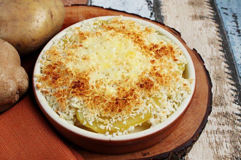 Kartoffelauflauf mit feiner Kruste