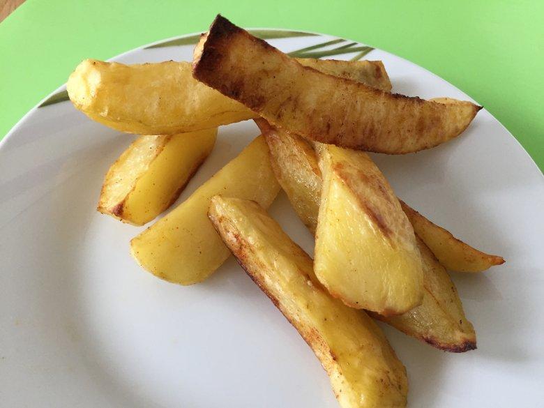 Kartoffelecken im Ofen