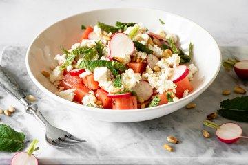 Radieschensalat mit Feta
