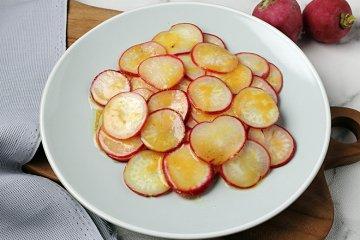Radieschensalat ohne Zwiebeln
