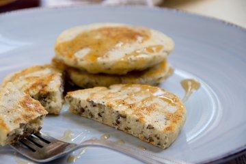 Vegane Pfannkuchen mit Chiasamen