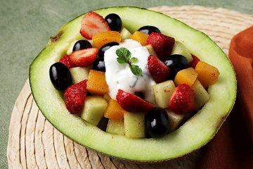Orientalischer Melonensalat