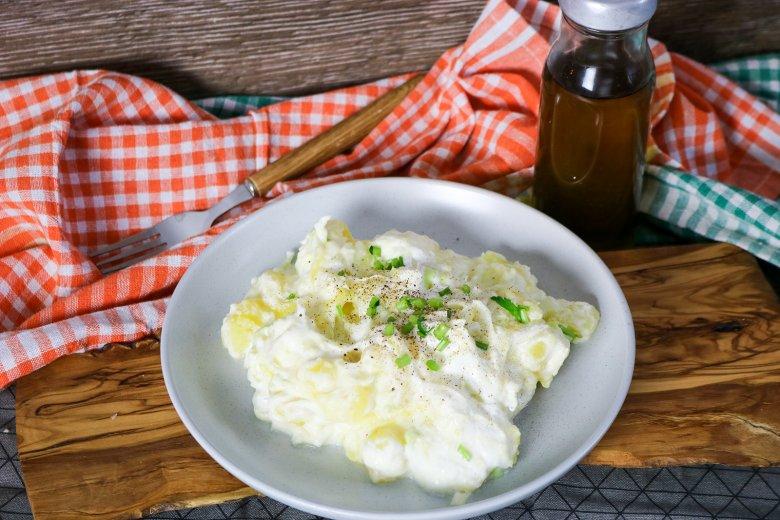 Kartoffelsalat mit Joghurt