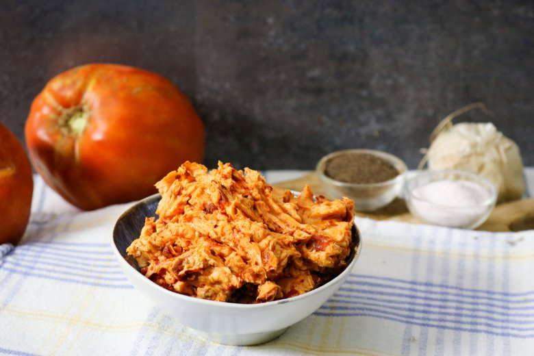Einfache Tomatenbutter