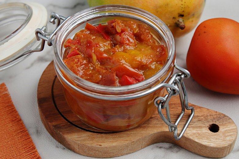 Tomaten-Mango Chutney