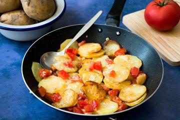 Kroatische Bratkartoffeln