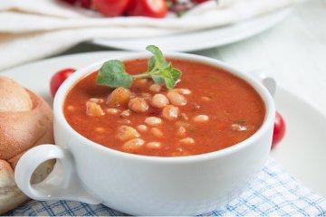 Türkische Bohnensuppe