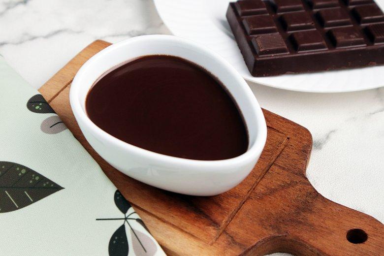 Einfache Schokoladensauce