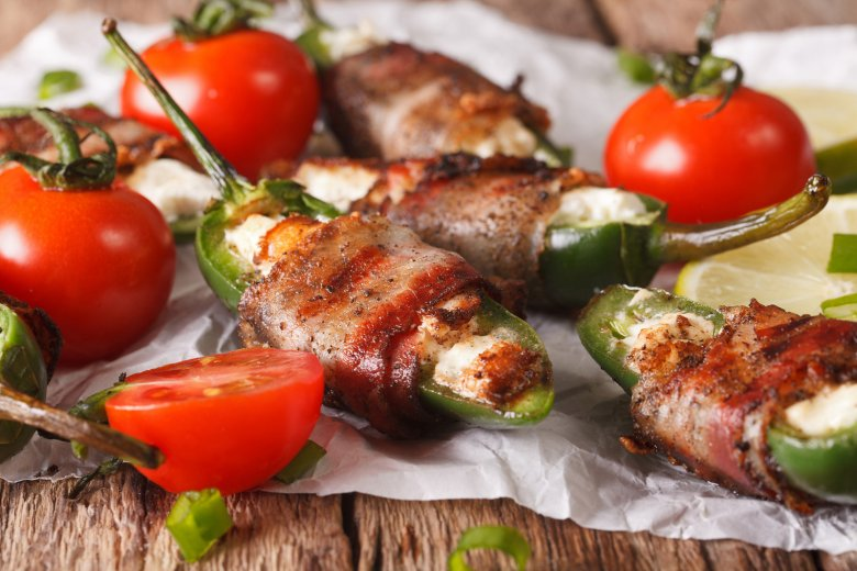 Gegrillte Jalapeno Poppers