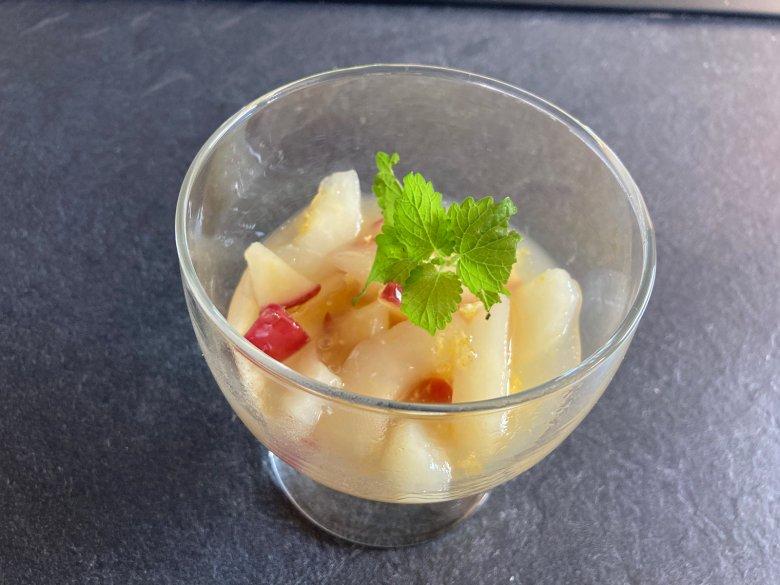 Apfel-Birnenkompott