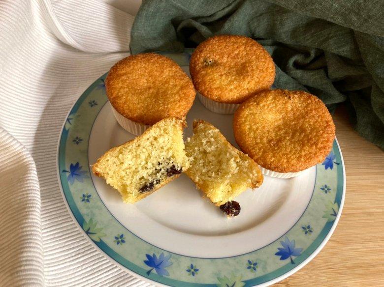 Kokos-Muffins mit Cranberries