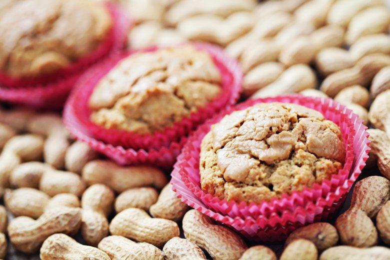 Erdnuss-Muffins