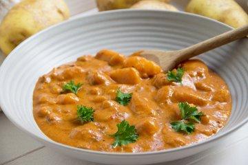 Vegetarisches Kartoffel-Gulasch