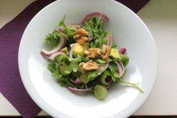 Avocadosalat mit Rucola