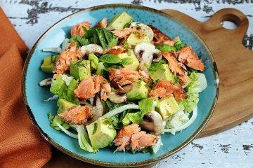 Avocado-Lachs-Salat