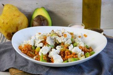 Avocadosalat mit Feta