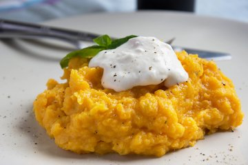 Karottenpüree mit Orange