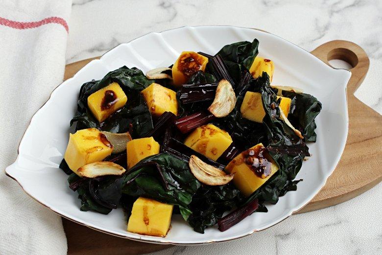 Mango-Mangold-Salat