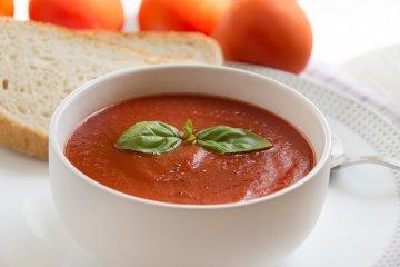 Mikrowellen-Tomatensuppe