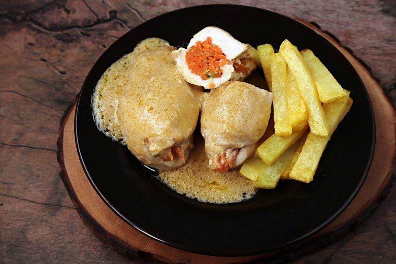 Hühnerfilets mit Kartoffeln