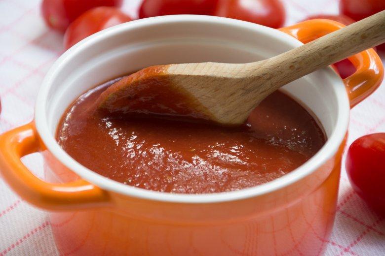 Mikrowellen-Tomatensauce