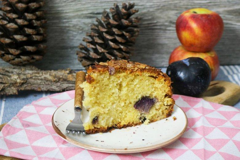 Apfel-Pflaumenkuchen