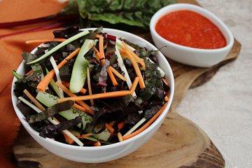 Rohkost Mangoldsalat