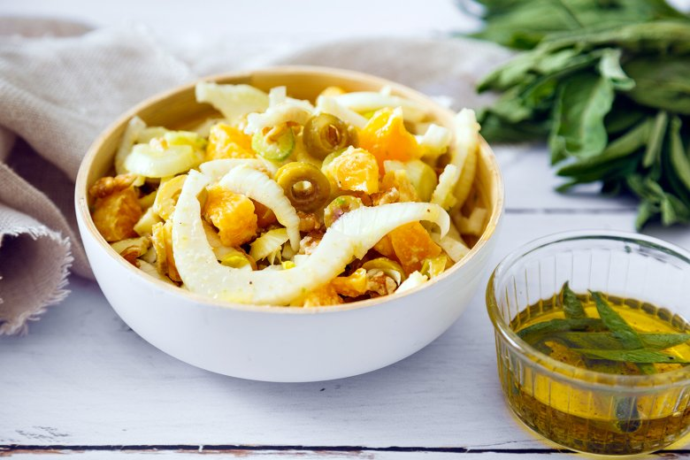 Rohkost Fenchel-Salbei-Salat
