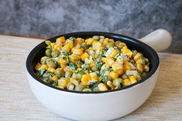 Erbsen-Mais-Salat
